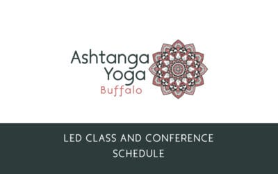 LED CLASSES SCHEDULE 2019