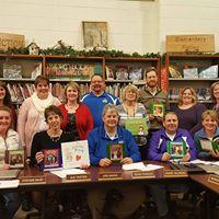 Book Donation made to Juda School Board