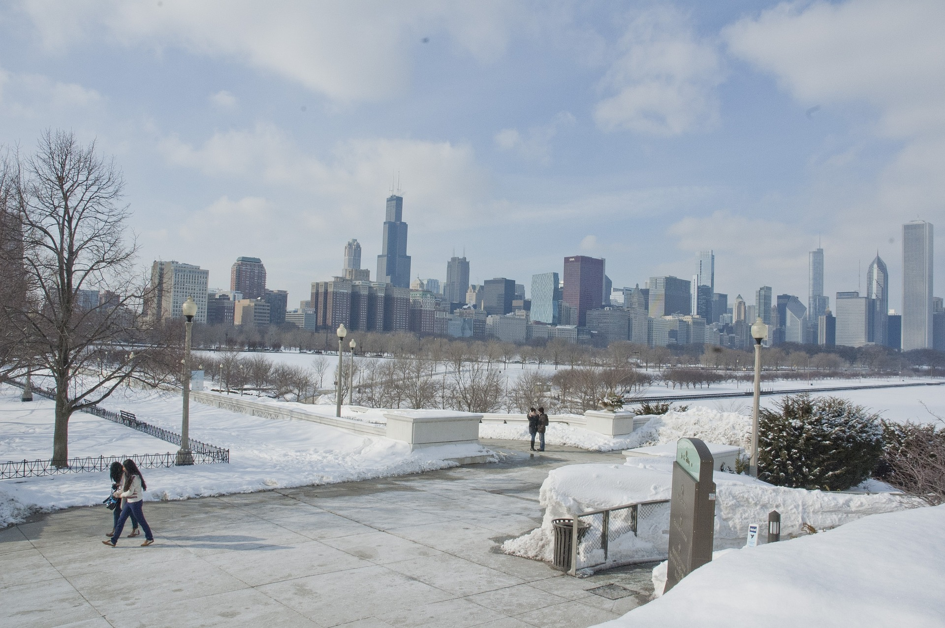 Wintertime in Chi-town