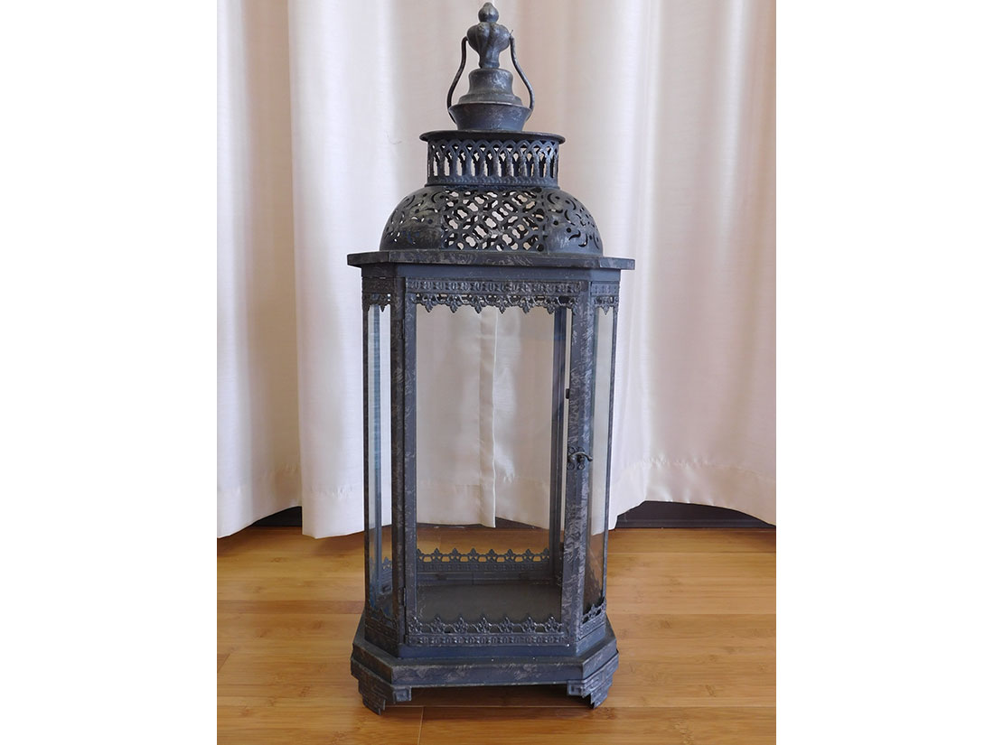 28 inch antique lantern event props and decor
