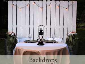 backdrop rental for weddings, photography sessions and special events