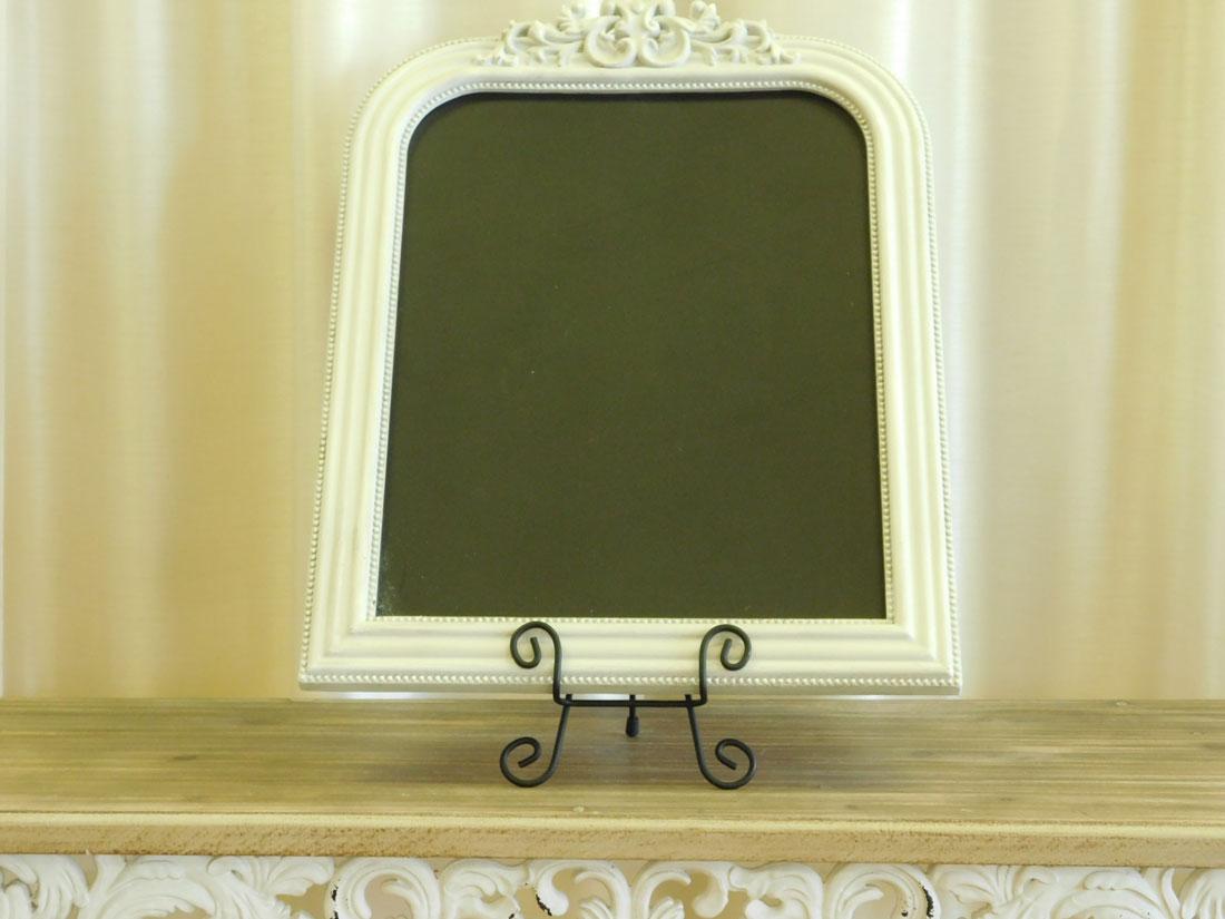 Elegant Vintage Ivory Chalkboard for special occasion decor rental