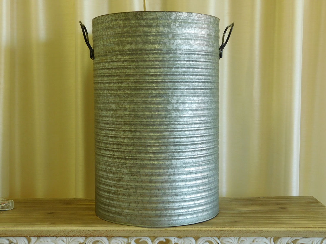 Galvanized Barrel