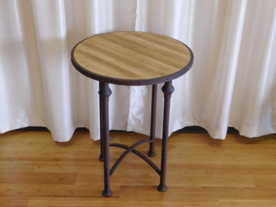 Rustic Round Table for rent