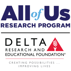 All of Us - DREF Logo
