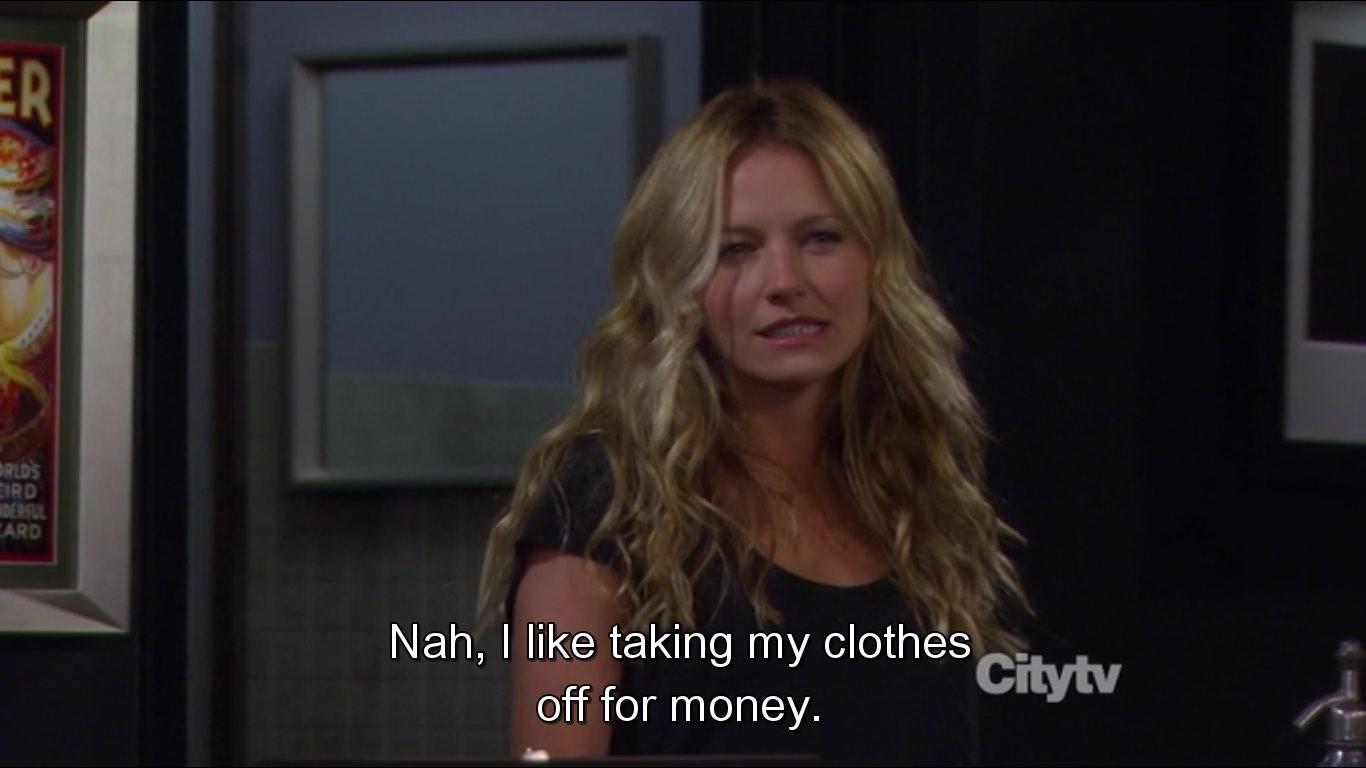 Quinn loves being a stripper S07E19