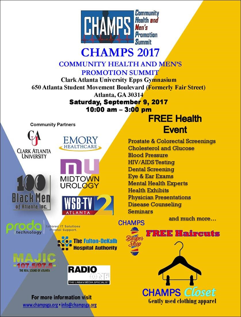 CHAMPS 2017 Flyer