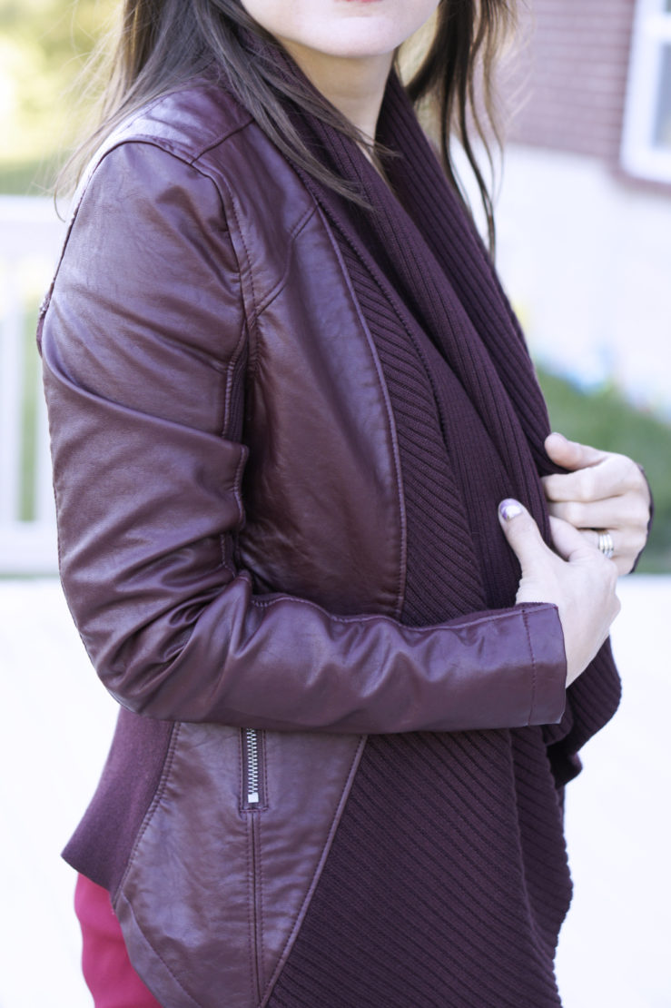 BlankNYC Ribbed Drape Jacket | Style In Shape