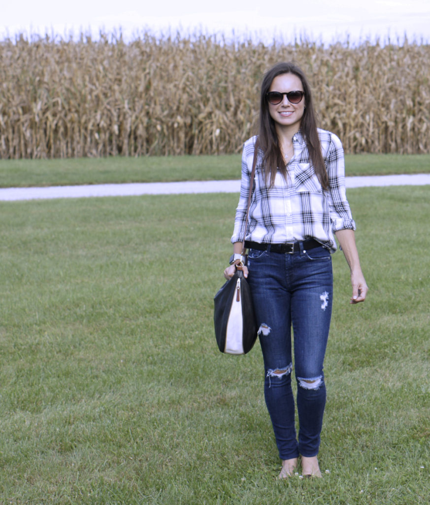 Style in Shape | Plaid with Leopard for Fall