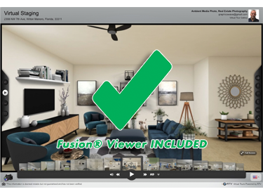 FUSION® Virtual Staging