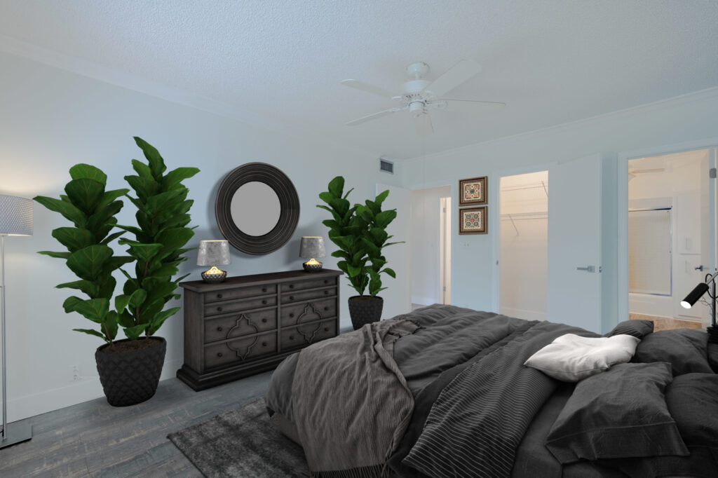 AMP virtual staging sample