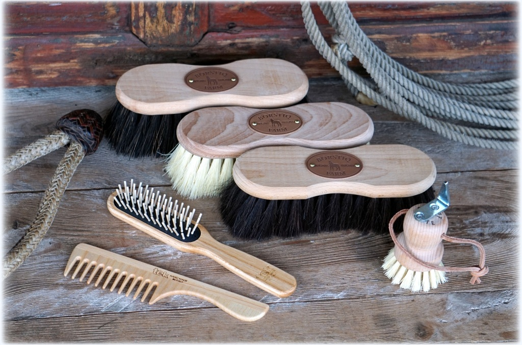 Buckaroo brush set main1