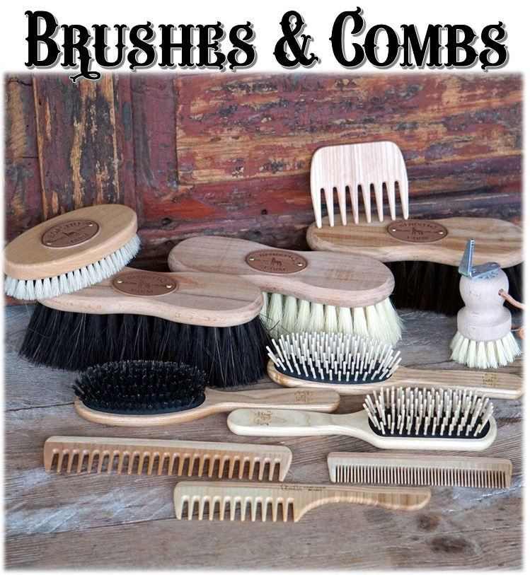 Wooden Brushes & Combs