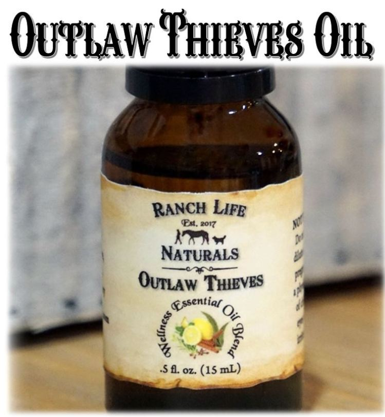 Outlaw Thieves Essential Oil Blends