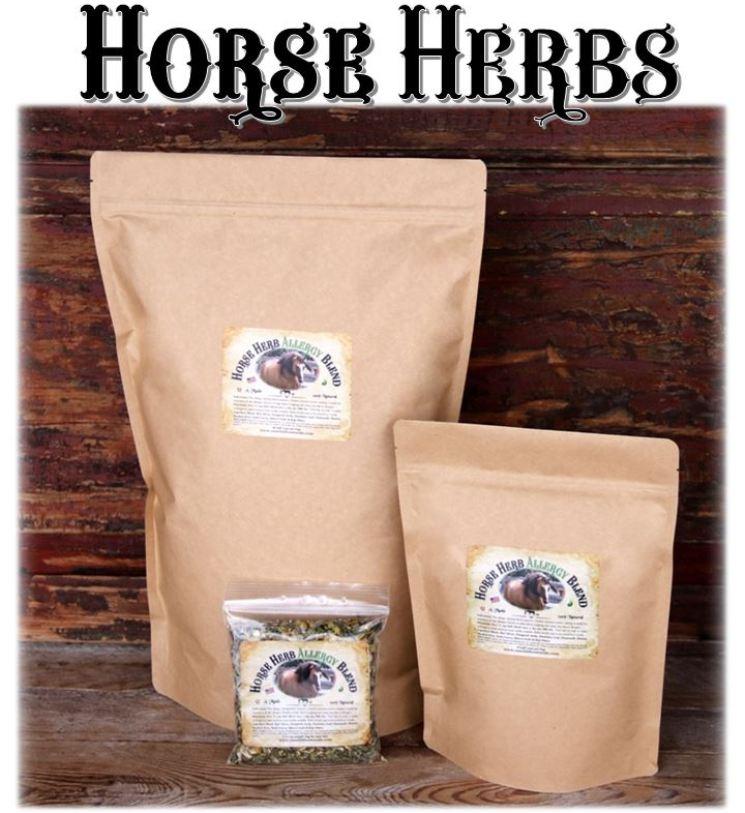 Wellness Herbs For Horses