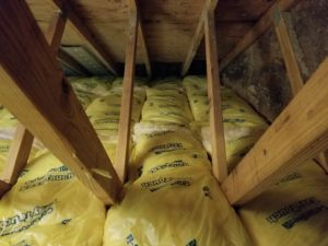 Encapsulated Attic Insulation and Baffles for Proper Ventilation