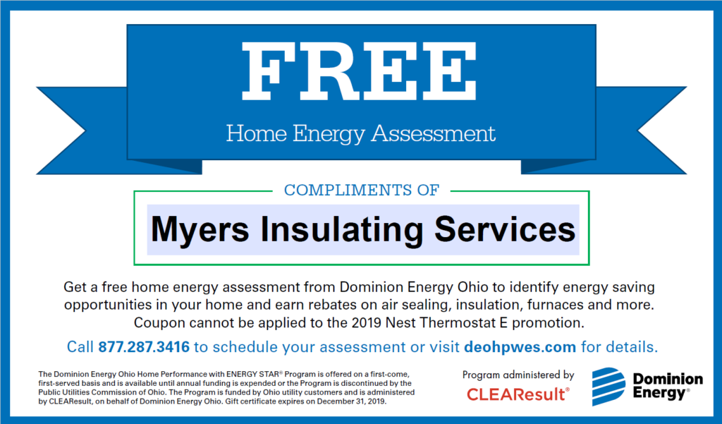 2019 Home Energy Audit