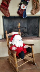 X-mas-Stockings-Fireplace-Santa in Chair
