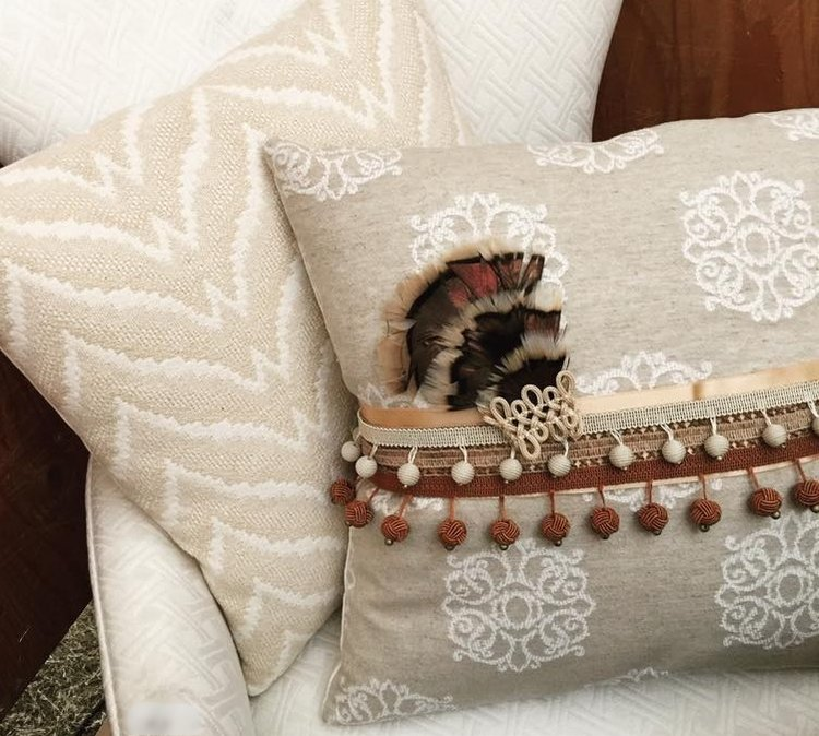 statement pillow