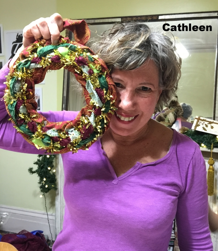 DIY Couture Wreath