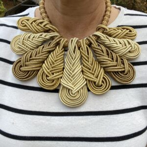 RBG Jabot Necklace