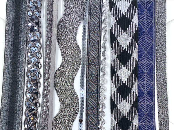 Trim Queen Embellish Box - Silver Mary
