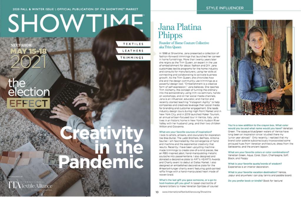 jana Platina Phipps Trim Queen Style Influencer Showtime Magazine