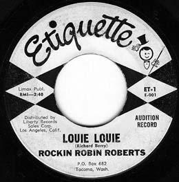 RockinRobinRoberts_LouieLouie45_Tacoma_1961