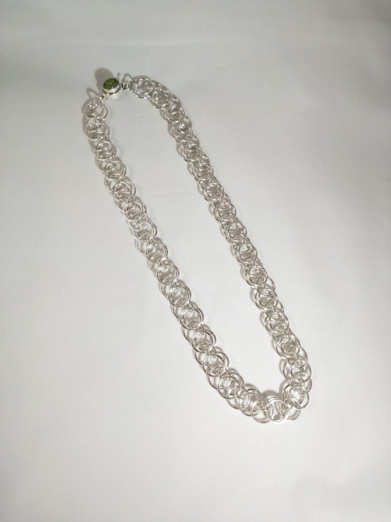 Silver Wire Necklace Bev Potty