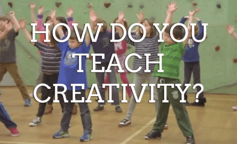 How Do You Teach Creativity