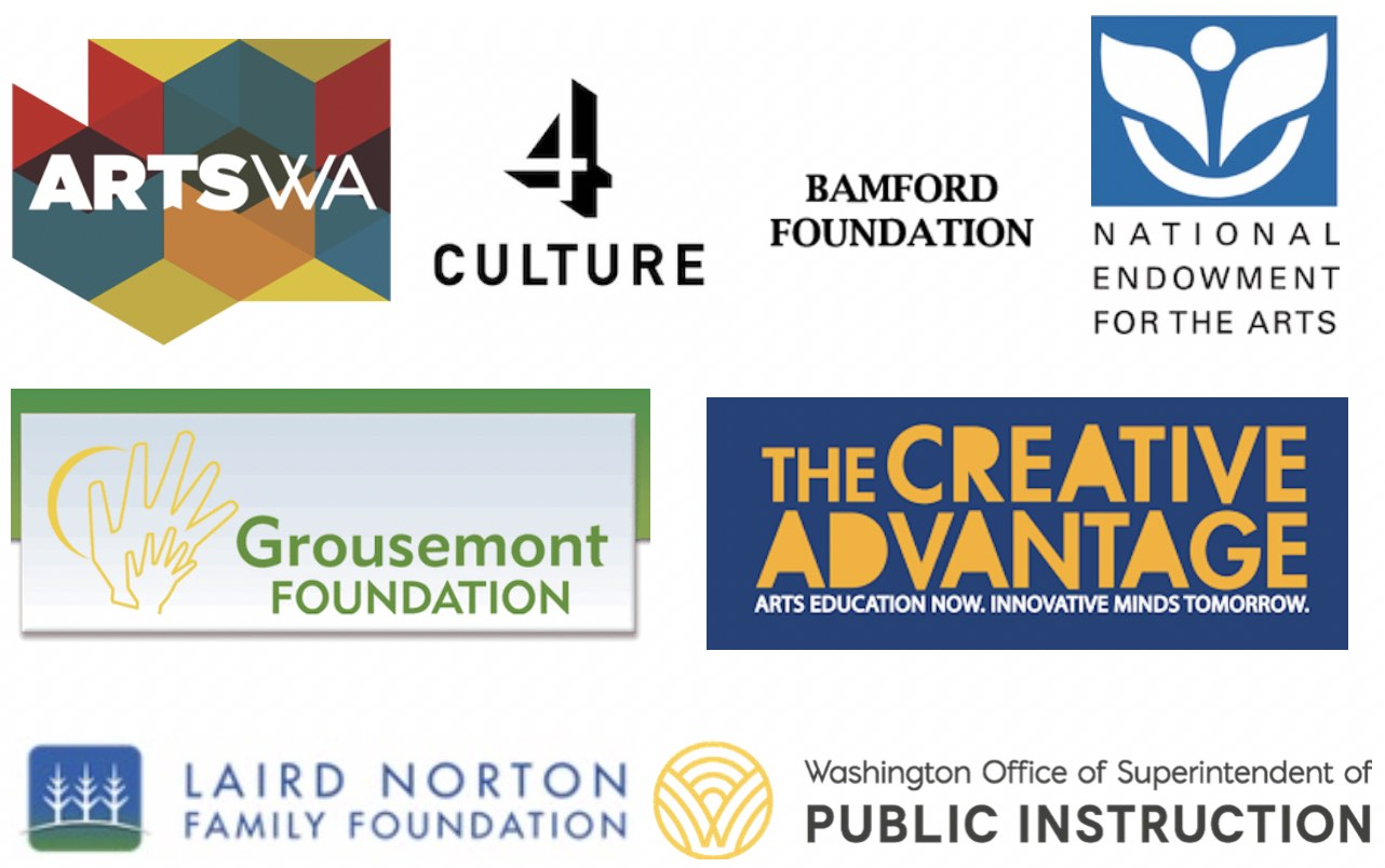 List of Generous Donors who help fund Arts Impact