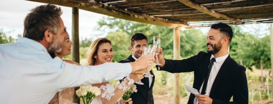5 Tips to Keep Wedding Toasts Appropriate