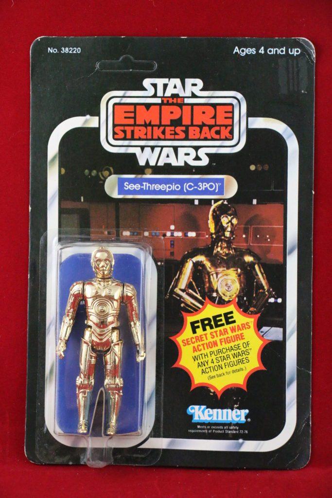 C-3PO 21-Back A Front