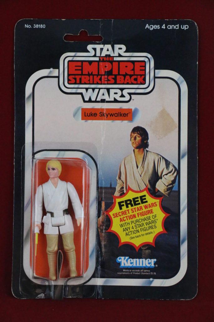 ESB Kenner Star Wars Luke Skywalker 21 Back A Front