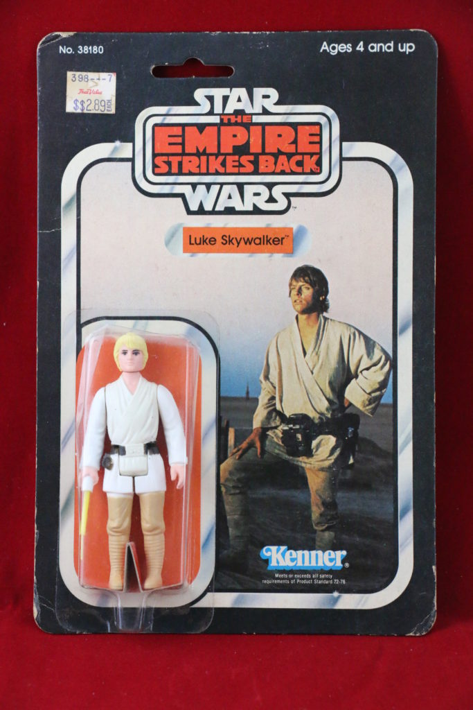ESB Kenner Star Wars Luke Skywalker 31 Back B Front