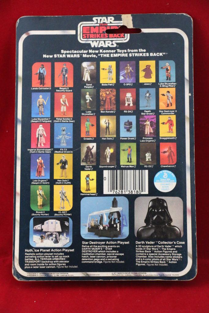 ESB Kenner Star Wars Luke Skywalker 31 Back B Back