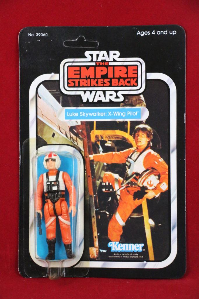 ESB Kenner Star Wars Luke X-Wing Pilot 32 Back B Front