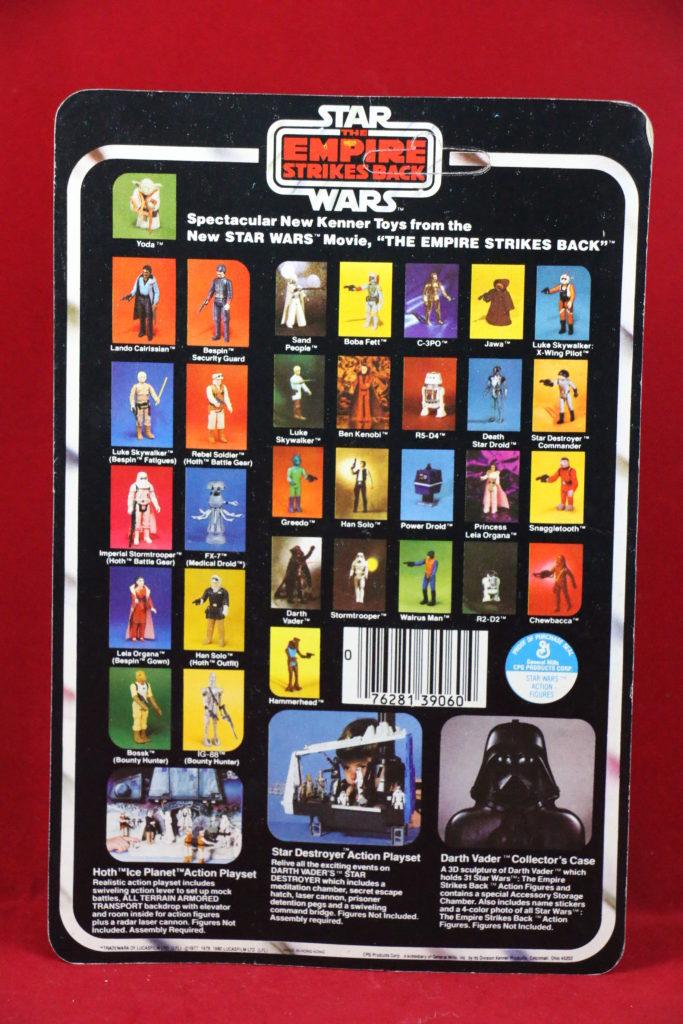 ESB Kenner Star Wars Luke X-Wing Pilot 32 Back B Back