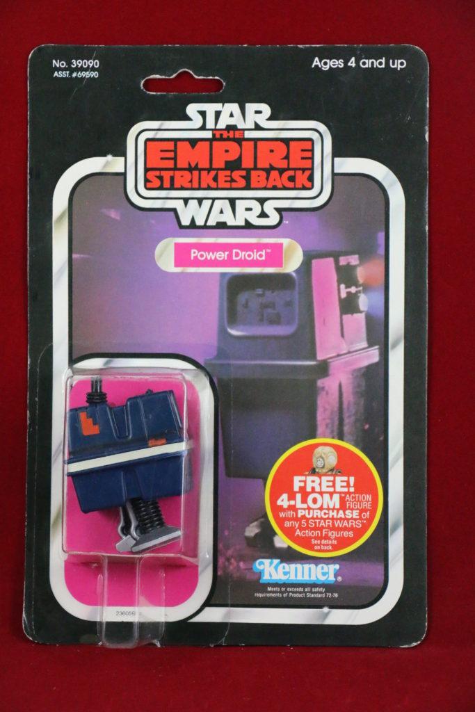 ESB Kenner Star Wars Power Droid 47 Back Front