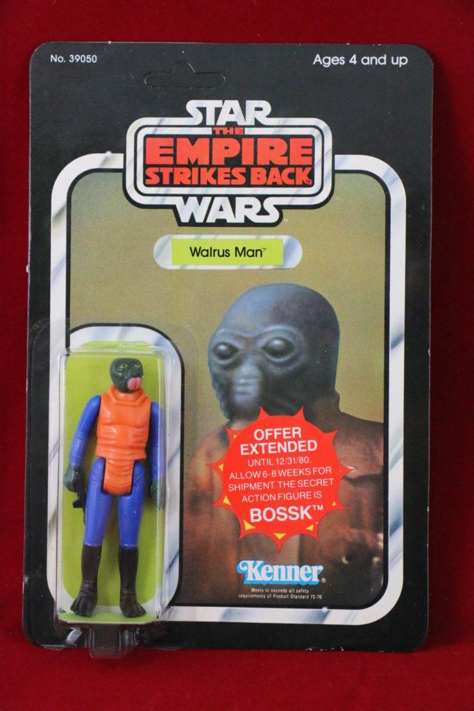 ESB Kenner Star Wars Walrus Man 21 Back A Bossk Sticker Front