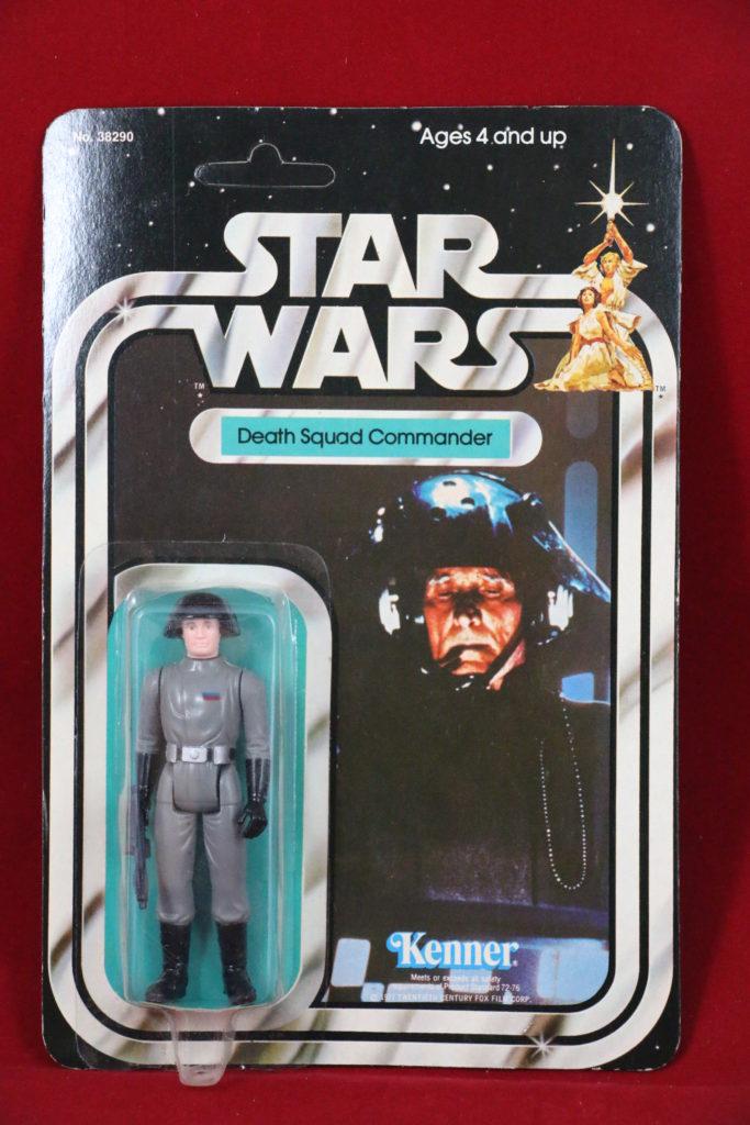 Death Squad Commander 21 Back B Front