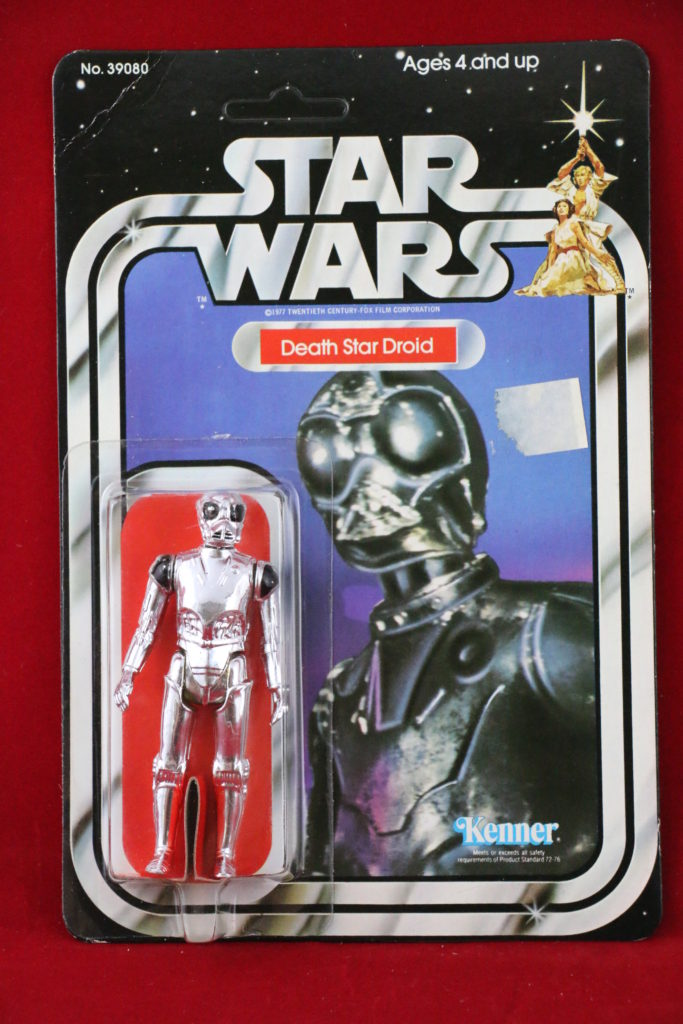 Kenner Star Wars Death Star Droid 21 Back A Front
