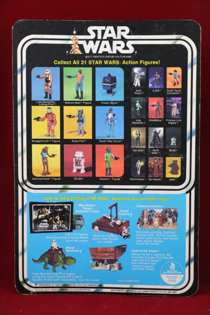 Kenner Star Wars Hammerhead 21 Back A Back