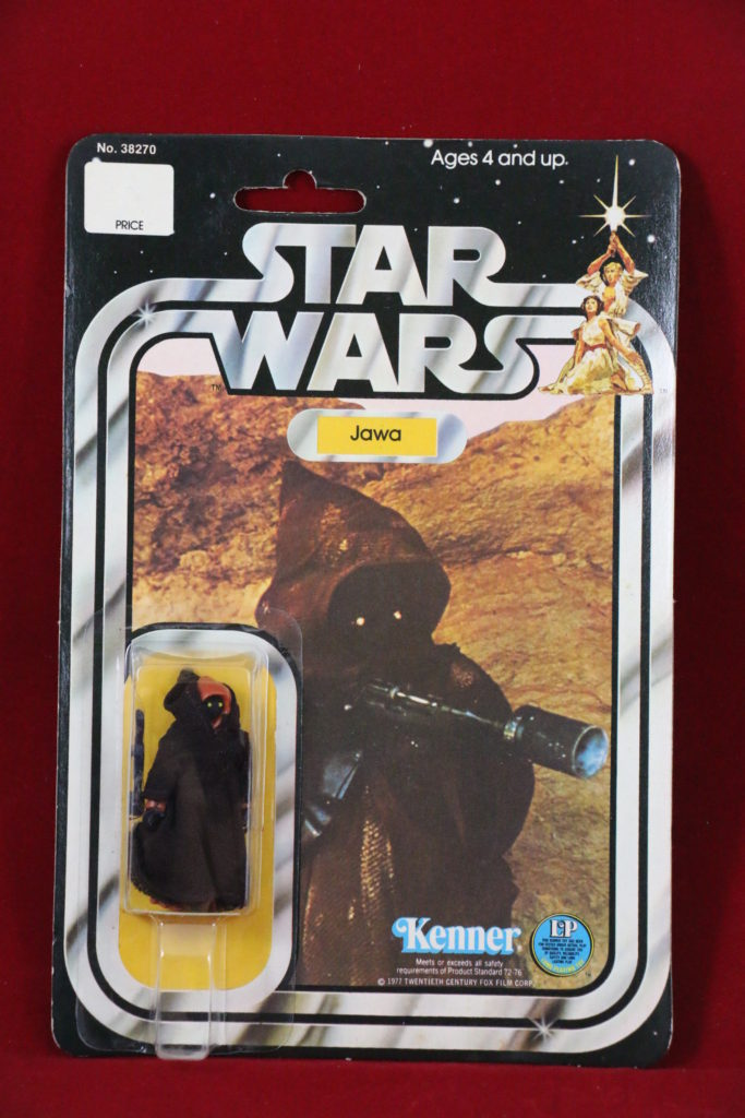 Kenner Star Wars Jawa 20 Back A Front