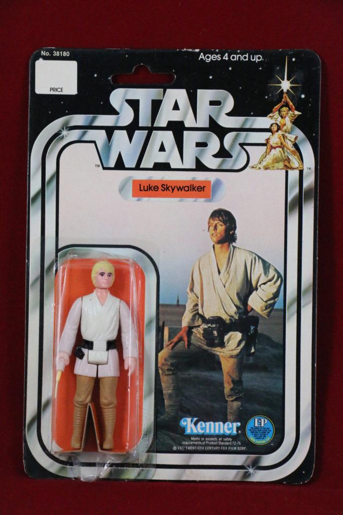 Kenner Star Wars Luke Skywalker 12 Back A Front