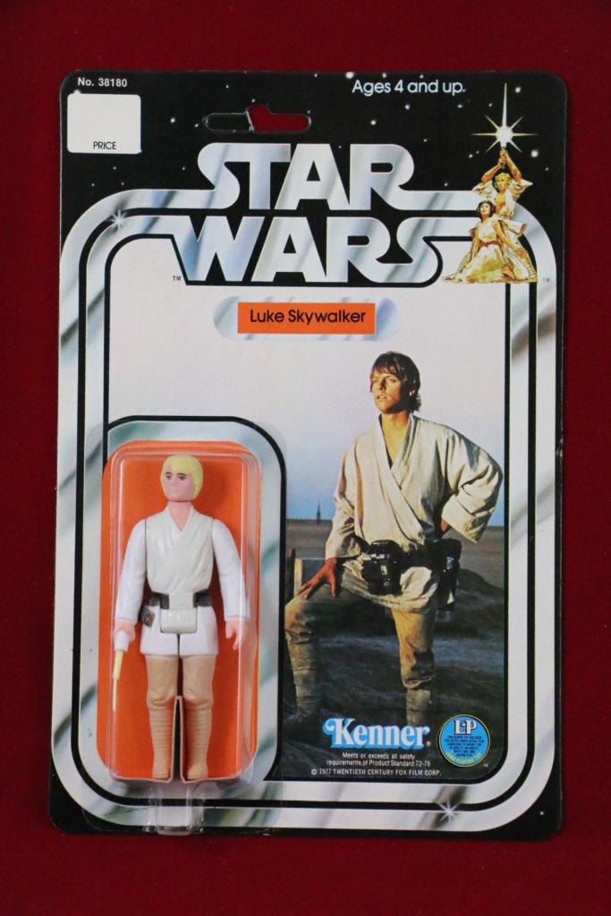 Kenner Star Wars Luke Skywalker 12 Back C Front