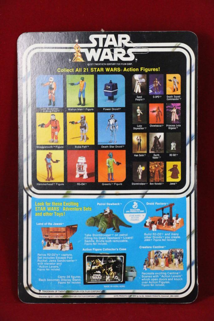 Kenner Star Wars Luke Skywalker 21 Back B Back