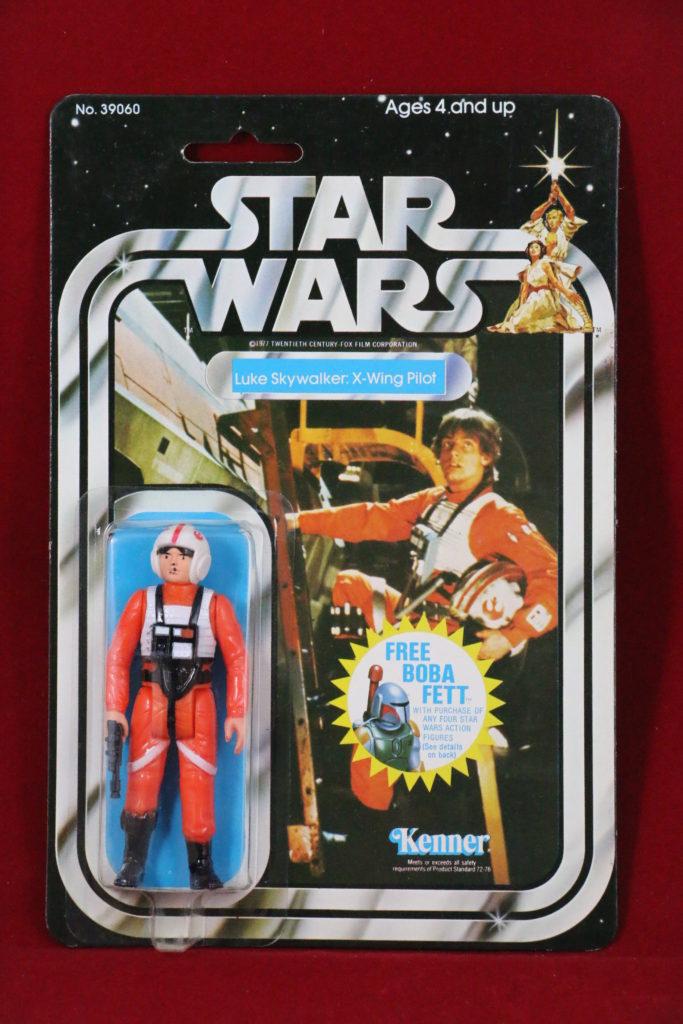 Kenner Star Wars Luke Skywalker X-Wing Pilot 20 Back C Front