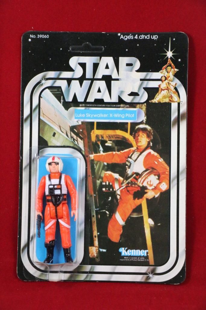 Kenner Star Wars Luke Skywalker X-Wing Pilot 21 Back A Front