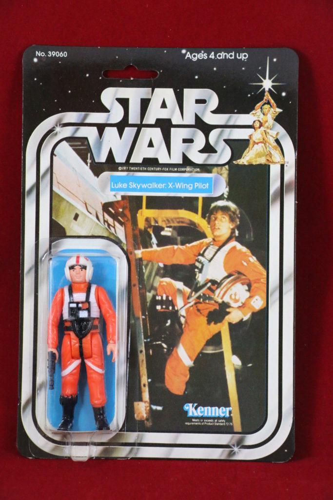 Kenner Star Wars Luke Skywalker X-Wing Pilot 21 Back B Front